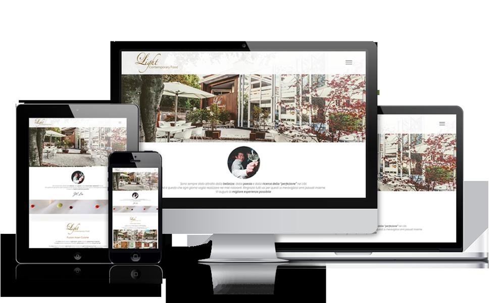 Angelo Bianchi Design • Light sushi sito internet